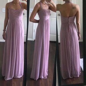 NWT David's Bridal pink bridesmaid prom dress